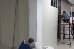 Drywall-installation-in-the-office-6