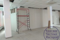 Drywall-installation-in-the-office-7