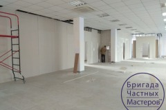 Drywall-installation-in-the-office-8