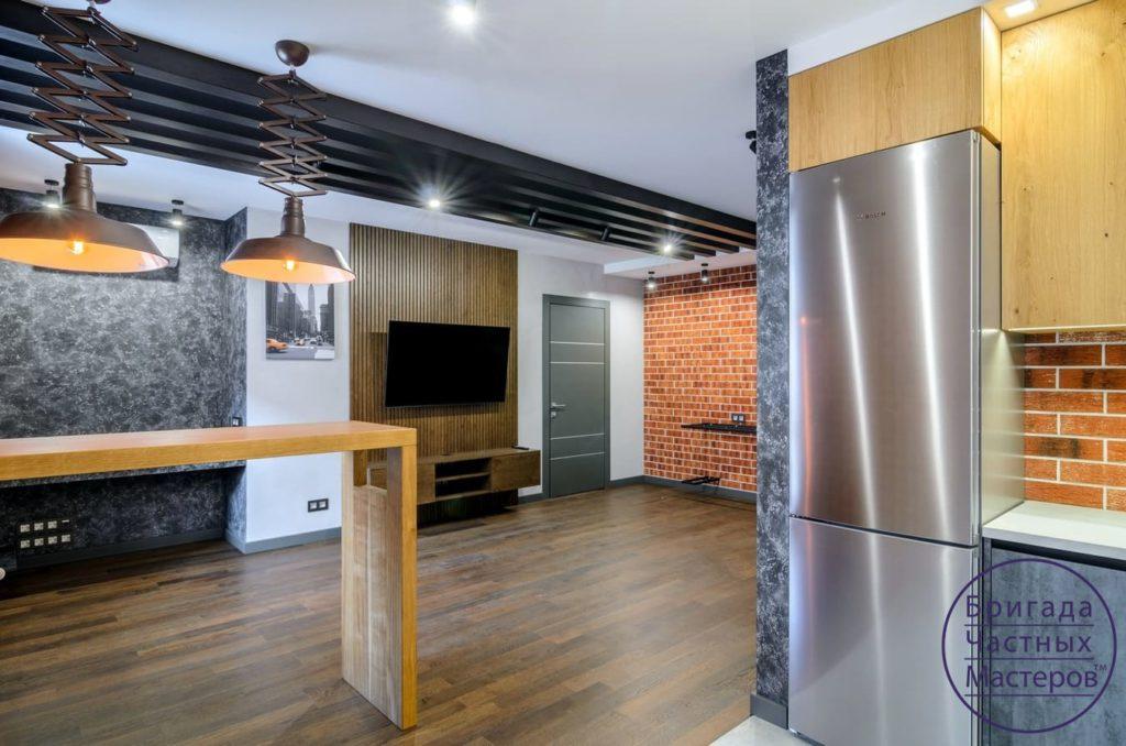 Ремонт квартиры в стиле лофт в Сумах 10