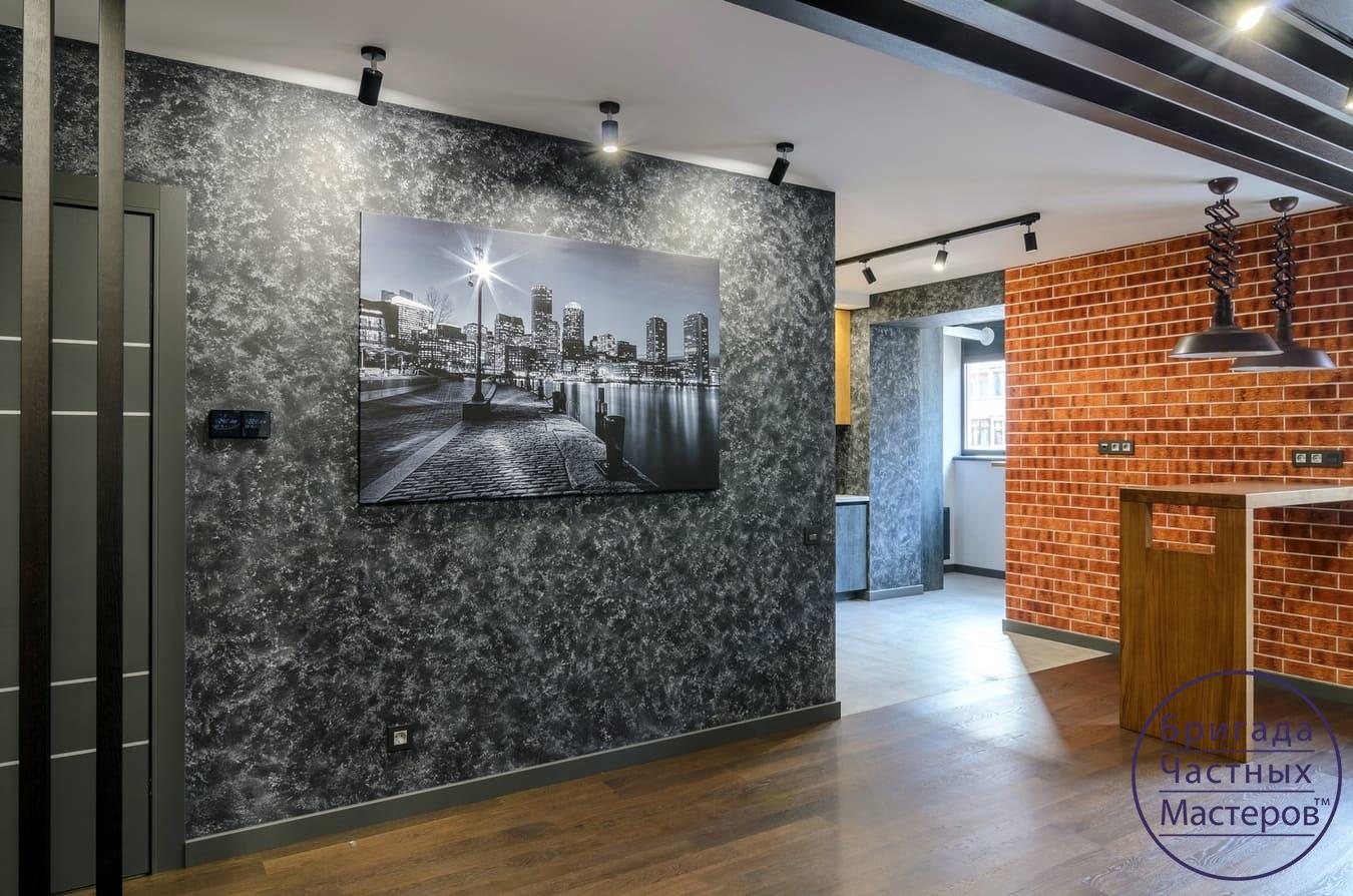 Ремонт квартиры в стиле лофт в Сумах 16