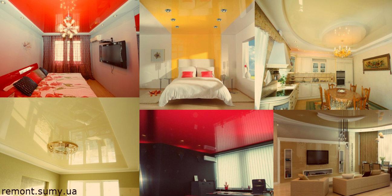 Пленочные потолки