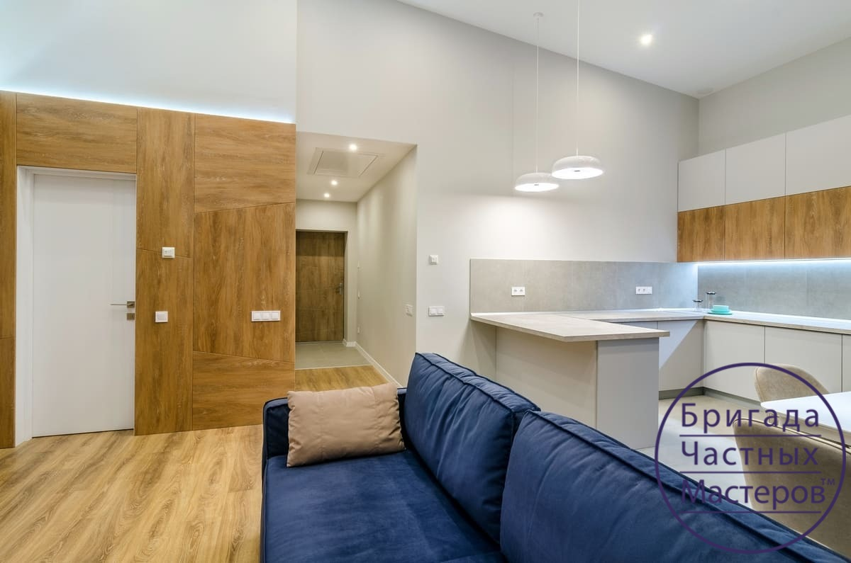Ремонт двухкомнатной квартиры в Сумах 5