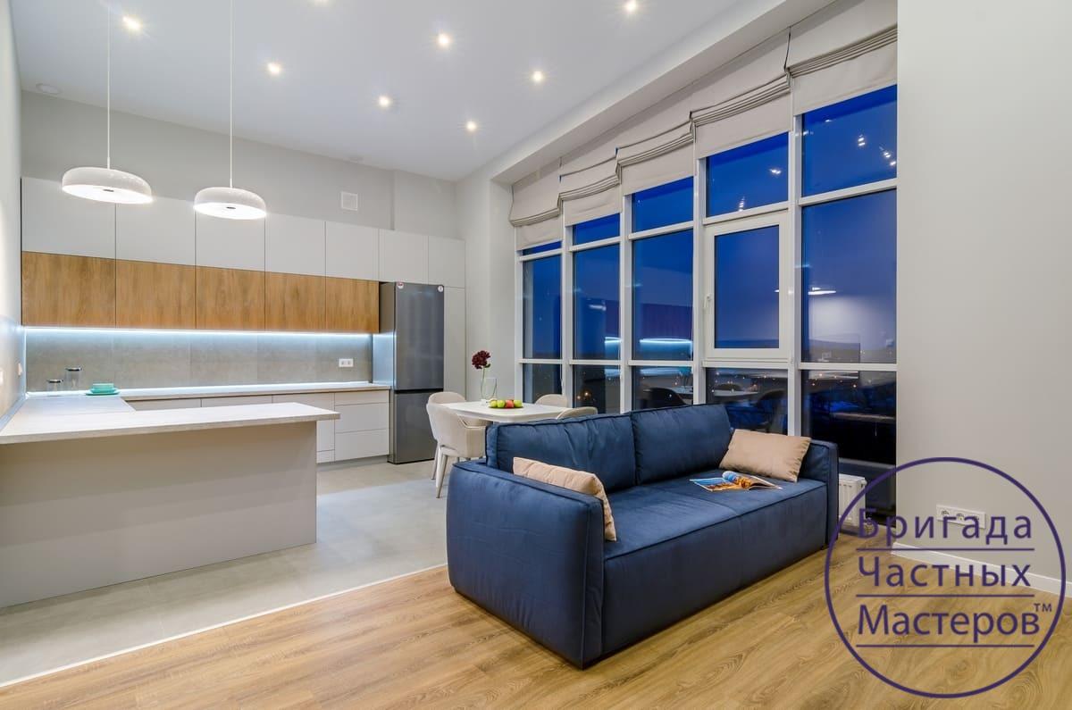 Ремонт двухкомнатной квартиры в Сумах 7