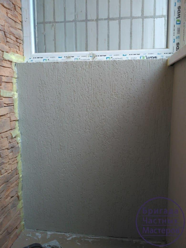 Нанесение короеда в Сумах. Отделка балкона 5