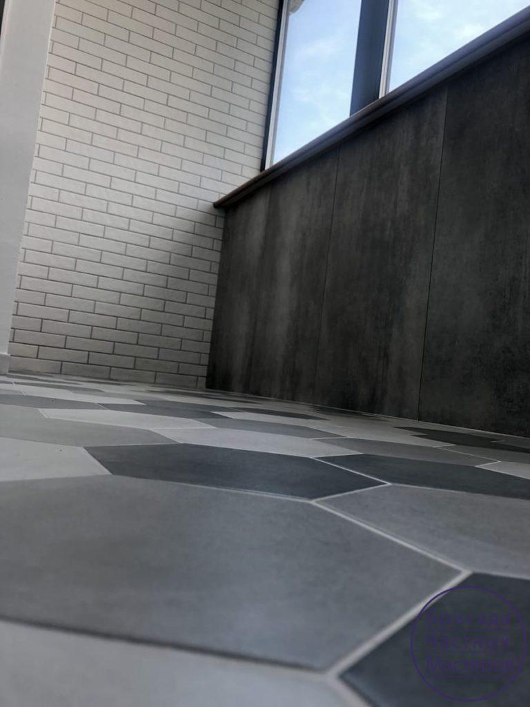 Ремонт шикарного балкона в Сумах в квартире 12