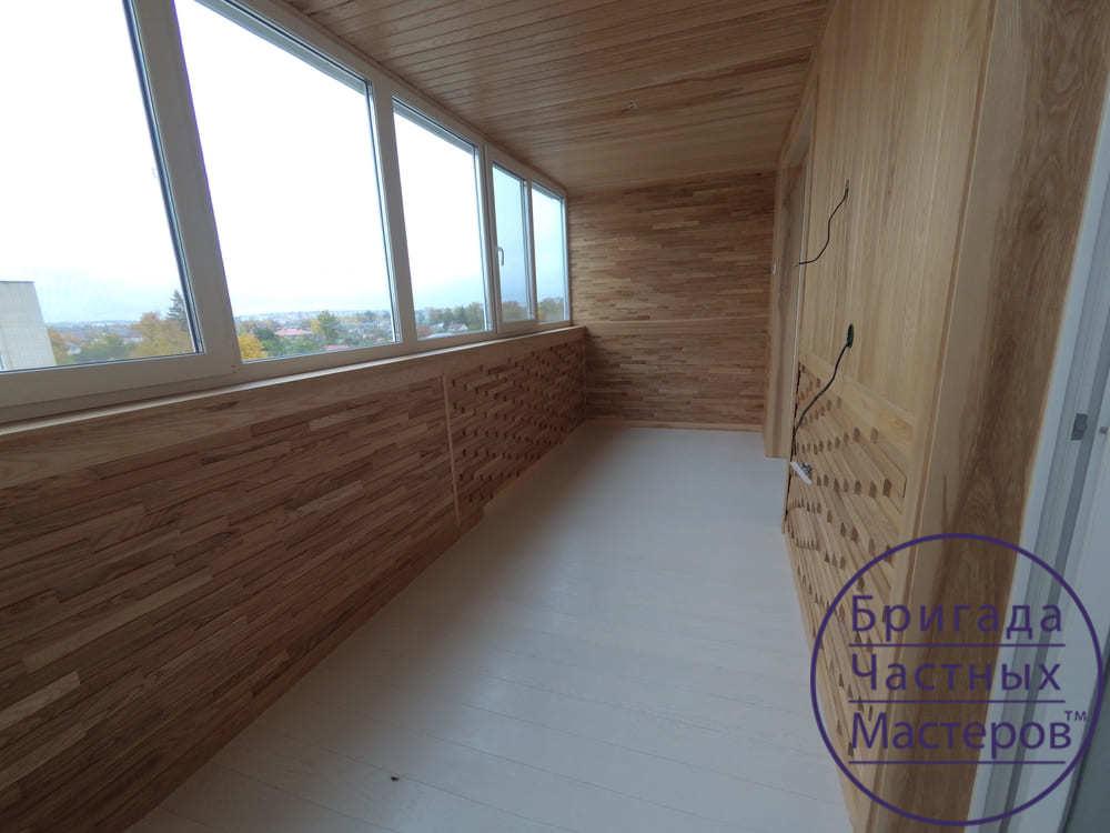 Ремонт балкона в Сумах на Продольной 6