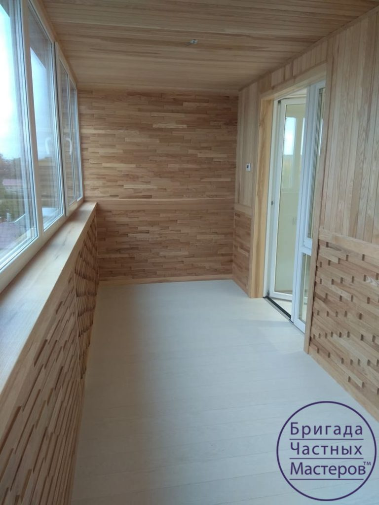 Ремонт балкона в Сумах на Продольной 8