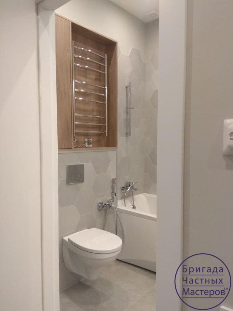 Ремонт ванной комнаты в современном стиле в сумах 6