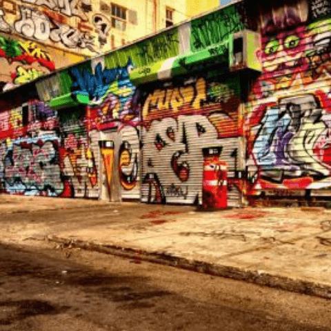 Фотообои Графити. Уличный стрит арт 2