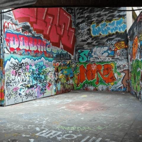 Фотообои Графити. Уличный стрит арт 4