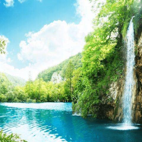Фотообои Природа. Водопад