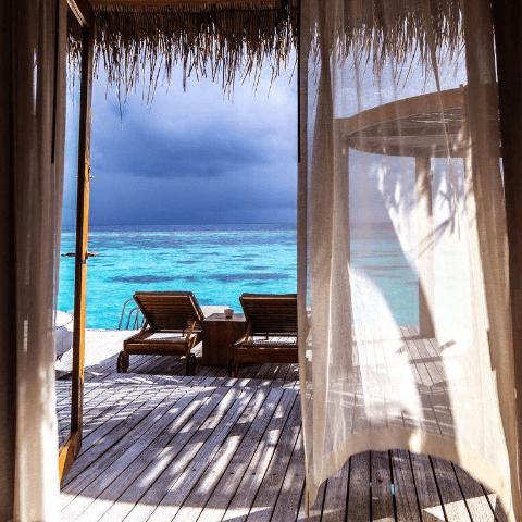 Обои, расширяющие пространство. Мальдивы