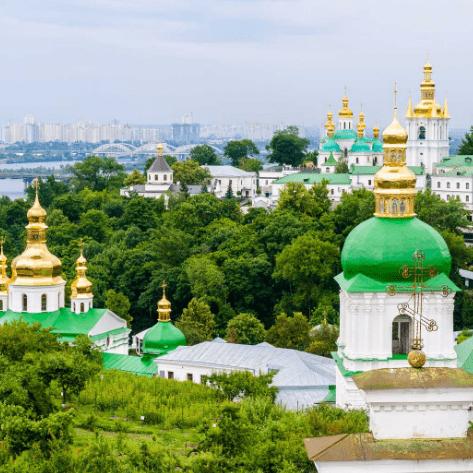Фотообои Украина. Собор
