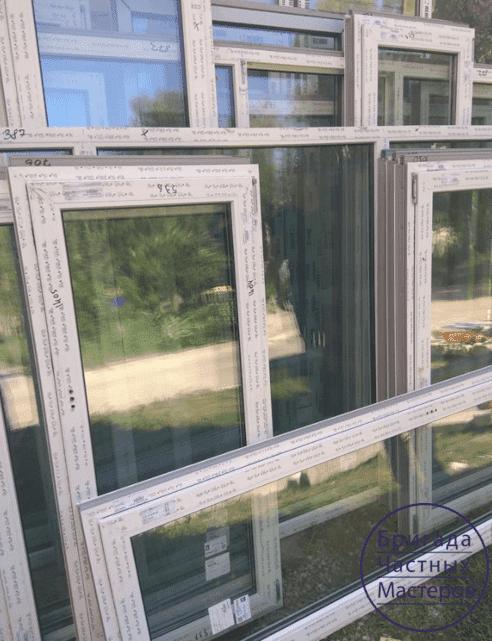 Остекление многоквартирного дома