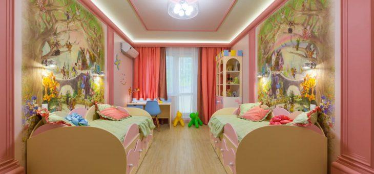 Отделка детской комнаты. Важные правила