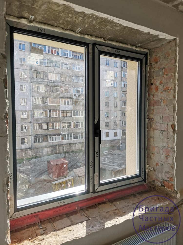 Окна в новостройке. Сумы 10