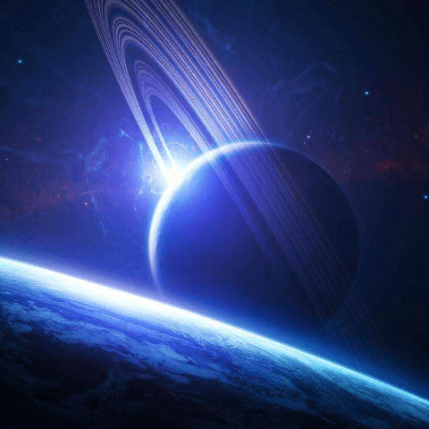 Фотообои Космос. Сатурн