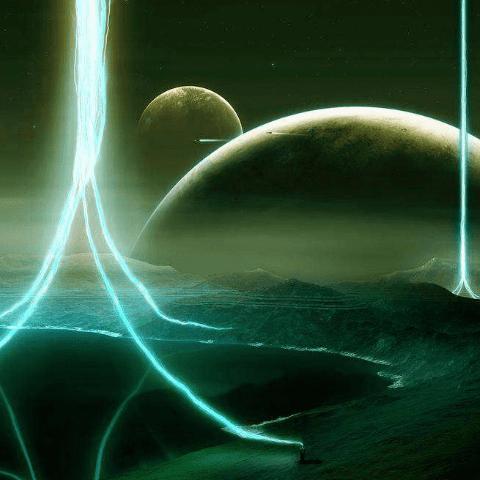Фотообои Космос. Сияние
