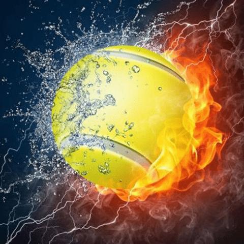 Фотообои Спорт. Тенис
