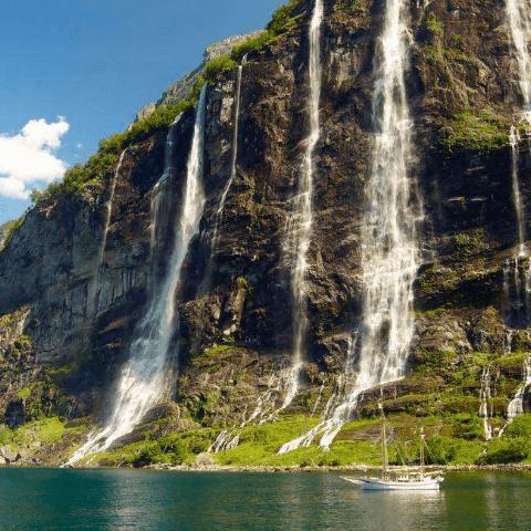 Фотообои Водопад 4